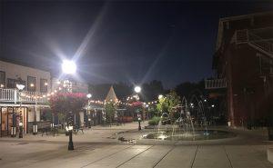 Bob McFadden Plaza in Morning Twilight