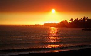 Sunset in Brookings Oregon