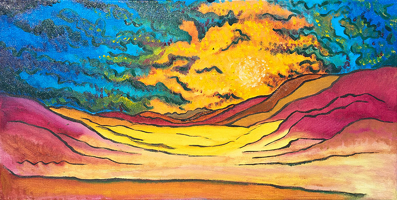 sunset-in-oil-july-2016