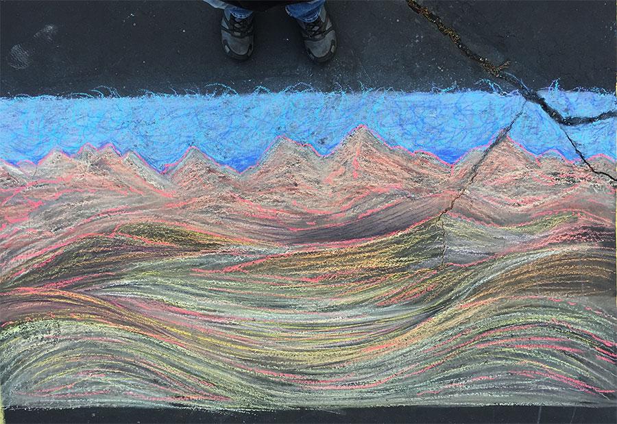 chalk-desert