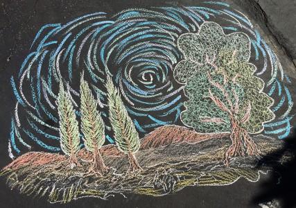 chalk-trees