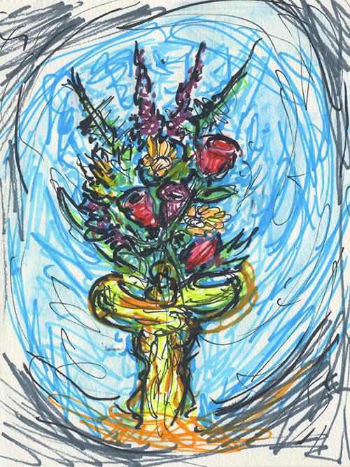 Sketch from Nicaragua II