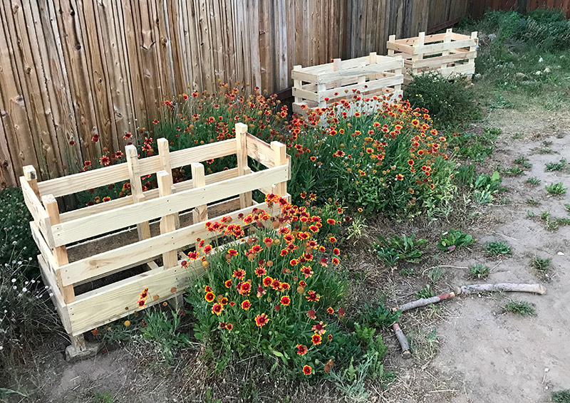 Quick project – planters out of Pallets