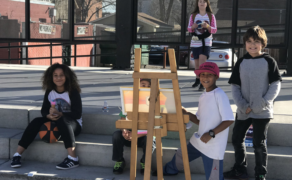 Saturday Art in the Plaza